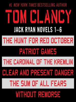 Cover of Jack Ryan, Books 1-6