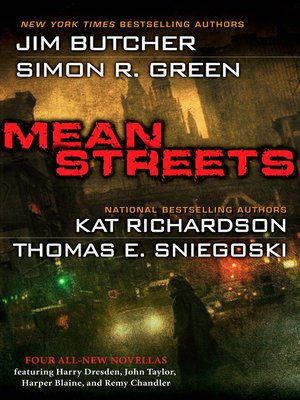 Click this cover for a(n) eBook sample of Mean Streets.