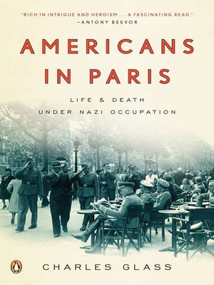 Click this cover for a(n) eBook sample of Americans in Paris