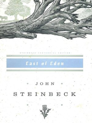 Click this cover for a(n) eBook sample of East of Eden