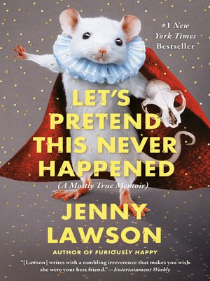 Click this cover for a(n) eBook sample of Let's Pretend This Never Happened