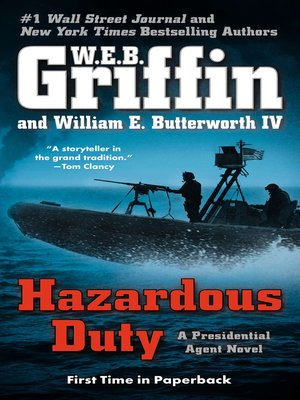 Click this cover for a(n) eBook sample of Hazardous Duty.
