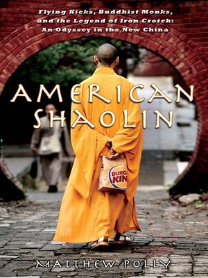 Click this cover for a(n) eBook sample of American Shaolin.