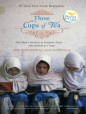 Click this cover for a(n) eBook sample of Three Cups of Tea.