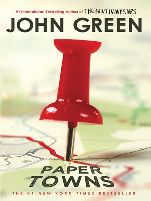 Click this cover for a(n) eBook sample of Paper Towns.
