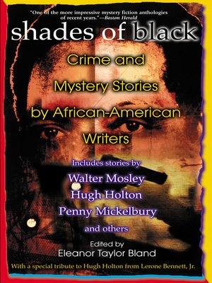 Click this cover for a(n) eBook sample of Shades Of Black
