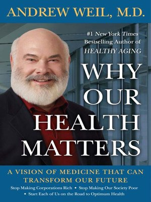 Click this cover for a(n) eBook sample of Why Our Health Matters