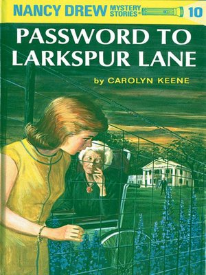 Click this cover for a(n) eBook sample of Password to Larkspur Lane
