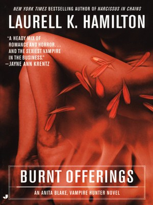 Click this cover for a(n) Audiobook sample of Burnt Offerings.