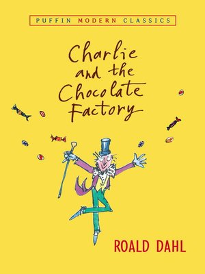 Click this cover for a(n) eBook sample of Charlie and the Chocolate Factory.