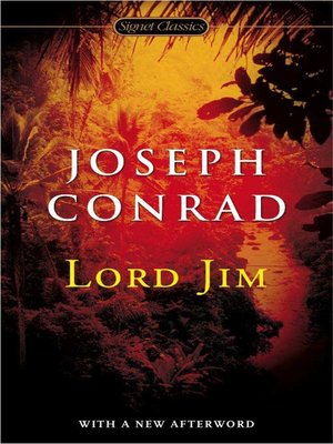 Click this cover for a(n) eBook sample of Lord Jim.