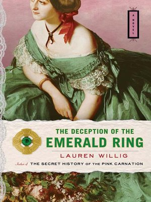 Click this cover for a(n) eBook sample of The Deception of the Emerald Ring.