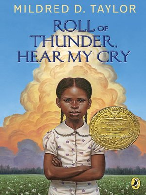 Click this cover for a(n) eBook sample of Roll of Thunder, Hear My Cry.