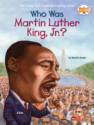 Cover of Who Was Martin Luther King, Jr.?