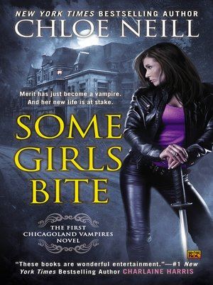 Click this cover for a(n) eBook sample of Some Girls Bite.