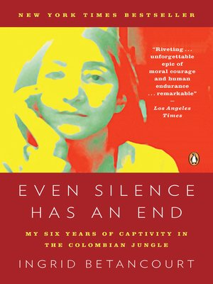 Click this cover for a(n) eBook sample of Even Silence Has an End.