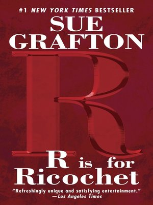 "Cover of ""R"" is for Ricochet"