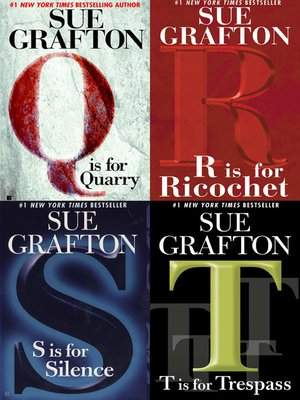Click this cover for a(n) eBook sample of Sue Grafton Novel Collection.