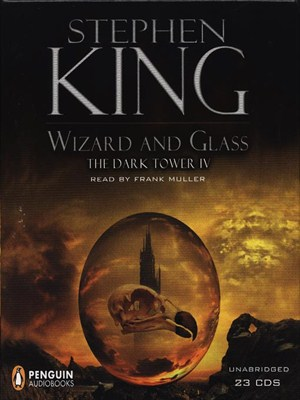 Click this cover for a(n) Audiobook sample of Wizard and Glass