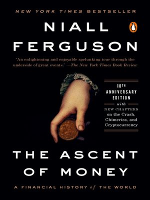 Click this cover for a(n) eBook sample of The Ascent of Money.