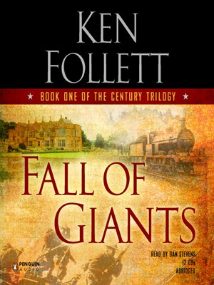 Click this cover for a(n) Audiobook sample of Fall of Giants.