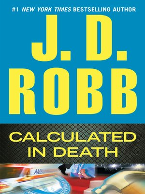 Click this cover for a(n) eBook sample of Calculated in Death.