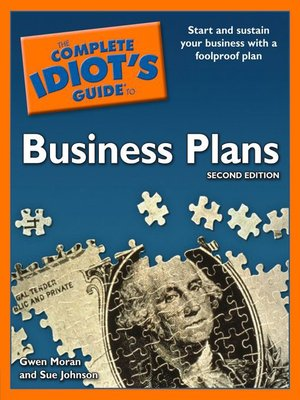 Click this cover for a(n) eBook sample of The Complete Idiot's Guide to Business Plans