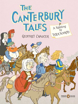 Click this cover for a(n) eBook sample of The Canterbury Tales