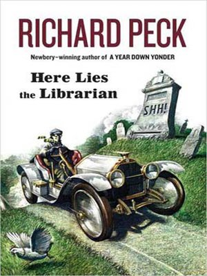 Click this cover for a(n) eBook sample of Here Lies the Librarian