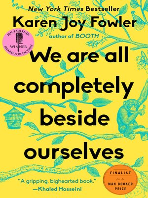 Click this cover for a(n) eBook sample of We Are All Completely Beside Ourselves