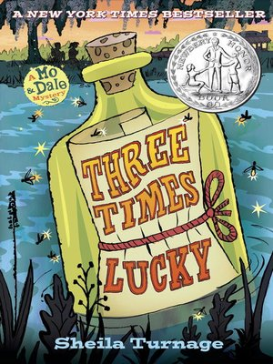 Click this cover for a(n) eBook sample of Three Times Lucky.
