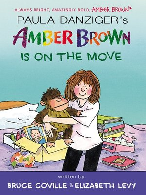 Click this cover for a(n) eBook sample of Amber Brown Is on the Move