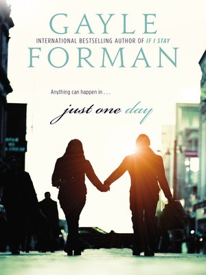 Click this cover for a(n) eBook sample of Just One Day.