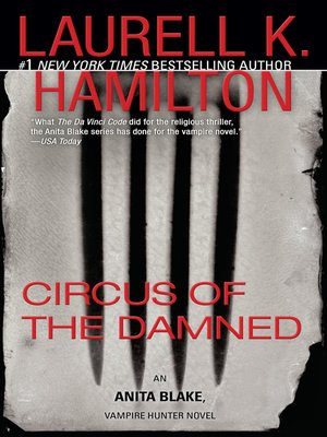Click this cover for a(n) eBook sample of Circus of the Damned.