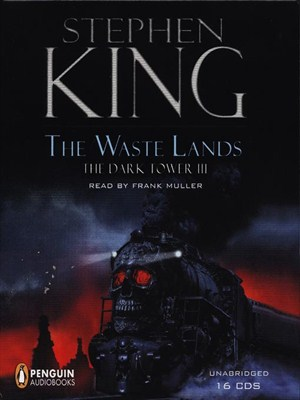 Click this cover for a(n) Audiobook sample of The Waste Lands