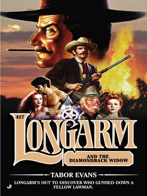Cover of Longarm and the Diamondback Widow