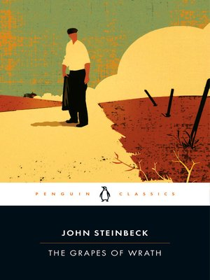 Click this cover for a(n) eBook sample of The Grapes of Wrath.