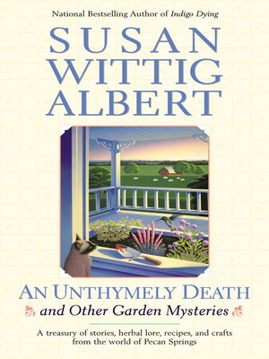 Click this cover for a(n) eBook sample of An Unthymely Death and Other Garden Mysteries