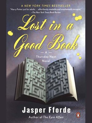 Click this cover for a(n) eBook sample of Lost in a Good Book.