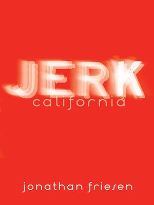 Cover of Jerk, California