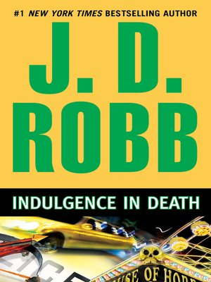 Click this cover for a(n) eBook sample of Indulgence in Death.
