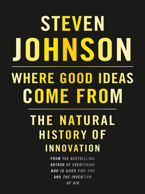 Click this cover for a(n) Audiobook sample of Where Good Ideas Come From