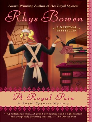 Click this cover for a(n) eBook sample of A Royal Pain.