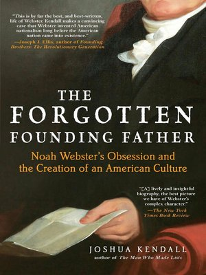 Click this cover for a(n) eBook sample of The Forgotten Founding Father