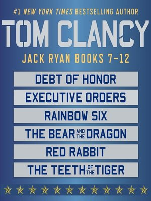 Cover of Jack Ryan, Books 7-12