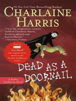 Click this cover for a(n) eBook sample of Dead as a Doornail.