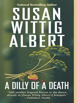 Click this cover for a(n) eBook sample of A Dilly of a Death.