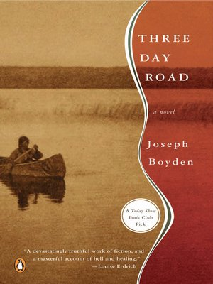 Click this cover for a(n) eBook sample of Three Day Road.