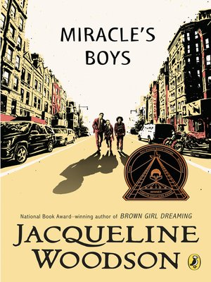 Click this cover for a(n) eBook sample of Miracle's Boys