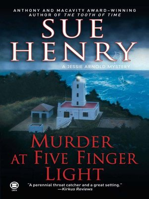 Click this cover for a(n) eBook sample of Murder at Five Finger Light.